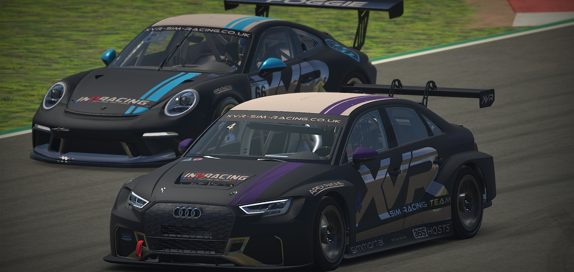 XVR showing off some new liveries
